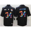 Men's Las Vegas Raiders #34 Bo Jackson Limited Black Crucial Catch Vapor Untouchable Jersey