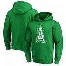 Men's Los Angeles Angels Green Printed Pullover Hoodie