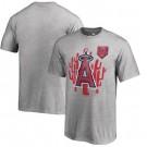 Men's Los Angeles Angels Printed T Shirt 14294