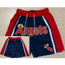 Men's Los Angeles Angels Red Just Don Shorts