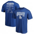 Men's Los Angeles Dodgers 2020 World Series Champions T Shirt 1013