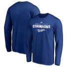 Men's Los Angeles Dodgers 2020 World Series Champions T Shirt 1023