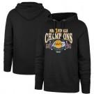 Men's Los Angeles Lakers Black 2020 Champions Printed Pullover Hoodie 201090