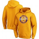 Men's Los Angeles Lakers Yellow 2020 Champions Printed Pullover Hoodie 201096