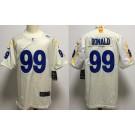Men's Los Angeles Rams #99 Aaron Donald Limited Bone 2020 Vapor Untouchable Jersey
