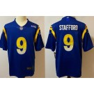 Men's Los Angeles Rams #9 Matthew Stafford Limited Royal Vapor Untouchable Jersey