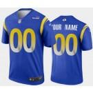 Men's Los Angeles Rams Customized Limited Blue 2020 Vapor Untouchable Jersey