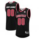Men's Louisville Cardinals Customized Black College Basketball Jersey