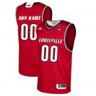 Men's Louisville Cardinals Customized Red College Basketball Jersey