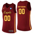 Men's Loyola Chicago Ramblers Customized Red College Basketball Jersey