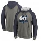 Men's Memphis Grizzlies Gray 3 Printed Pullover Hoodie