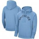 Men's Memphis Grizzlies Light Blue Statement Edition Pullover Hoodie