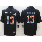 Men's Miami Dolphins #13 Dan Marino Limited Black Crucial Catch Vapor Untouchable Jersey
