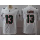 Men's Miami Dolphins #13 Dan Marino Limited White Vapor Untouchable Jersey