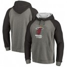 Men's Miami Heat Gray 1 Printed Pullover Hoodie