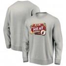 Men's Miami Heat Gray 2020 Printed Pullover Sweatshirt 201106