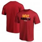 Men's Miami Heat Printed T Shirt 201039