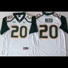 Men's Miami Hurricanes #20 Ed Reed White 2018 College Football Jersey