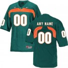 Men's Miami Hurricanes Customized Green College Football Jersey