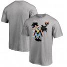 Men's Miami Marlins Printed T Shirt 10718