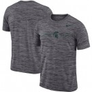 Men's Michigan State Spartans Gray Velocity Sideline Legend Performance T Shirt 201043
