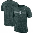 Men's Michigan State Spartans Green Velocity Sideline Legend Performance T Shirt 201056