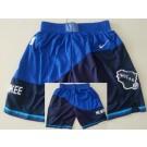 Men's Milwaukee Bucks Blue 2021 City Swingman Shorts