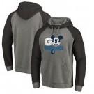 Men's Minnesota Timberwolves Gray Printed Pullover Hoodie
