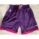 Men's Minnesota Timberwolves Purple City Swingman Shorts