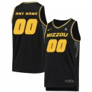 Men's Missouri Tigers Customized Black 2019 College Basketball Jersey
