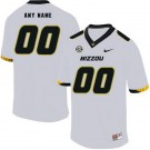 Men's Missouri Tigers Customized White Rush College Football Jersey