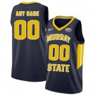 Men's Murray State Racers Customized Navy College Basketball Jersey