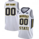 Men's Murray State Racers Customized White College Basketball Jersey