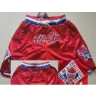 Men's NBA Red 1991 All Star Just Don Shorts