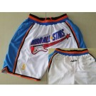 Men's NBA White 1997 All Star Just Don Shorts