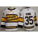 Men's Nashville Predators #35 Pekka Rinne White 2020 Winter Classic Authentic Jersey