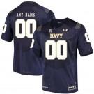 Men's Navy Midshipmen Customized Navy College Football Jersey