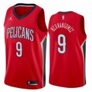 Men's New Orleans Pelicans #9 Willy Hernangomez Red Icon Hot Press Jersey