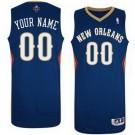 Men's New Orleans Pelicans Customized Navy Swingman Adidas Jersey