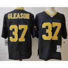 Men's New Orleans Saints #37 Steve Gleason Black Throwback Jersey