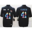 Men's New Orleans Saints #41 Alvin Kamara Limited Black Crucial Catch Vapor Untouchable Jersey