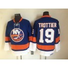 Men's New York Islanders #19 Bryan Trottier Blue Retro Jersey