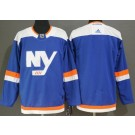 Men's New York Islanders Blank Blue Alternate Jersey