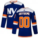 Men's New York Islanders Customized Blue Alternate Authentic Jersey