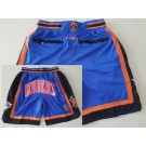 Men's New York Knicks Blue Just Don Swingman Shorts