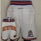 Men's New York Knicks White 1994 Just Don Swingman Shorts