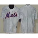 Men's New York Mets Blank White 2020 Cool Base Jersey