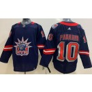 Men's New York Rangers #10 Artemi Panarin Navy 2021 Reverse Retro Authentic Jersey