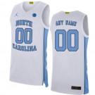 Men's North Carolina Tar Heels Customized White 2019 College Basketball Jersey