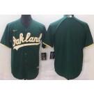 Men's Oakland Athletics Blank Geen Alternate Cool Base Jersey